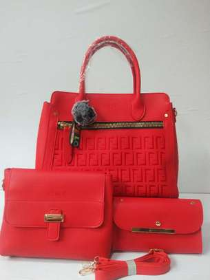 3 in 1  leather handbag image 1