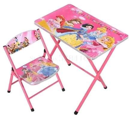 Kids foldable chair+foldable seat set image 5