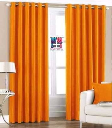 Orange Curtains image 1