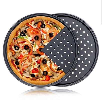 31cm non-stick perforated pizza pan image 1