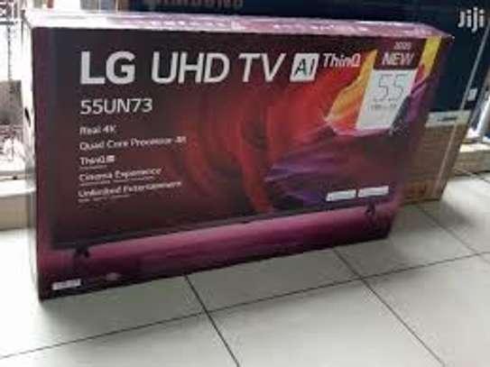 LG UN7340 UHD 4K TV 55 Inch, 4K Active HDR WebOS Smart AI ThinQ image 1