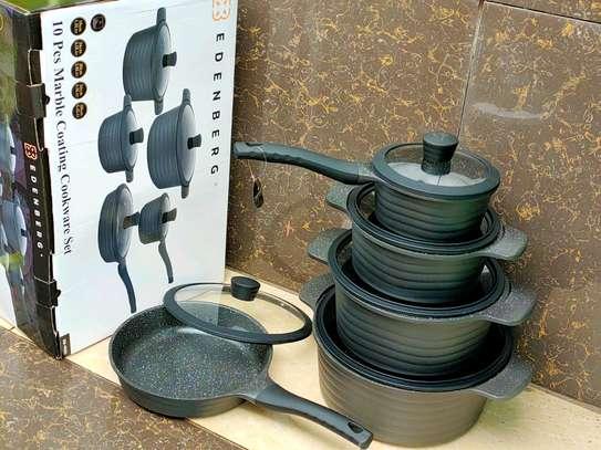 10pc Edenberg cookware image 1