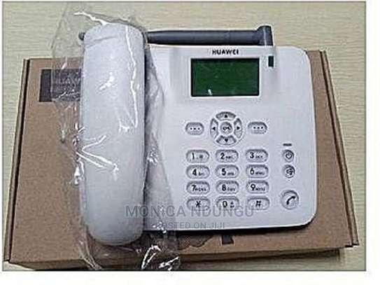 Huawei Landline Desk Phone With FM Radio and Keypad Light image 1