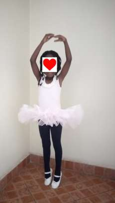 Kids leather ballet dance shoes and tutus image 4