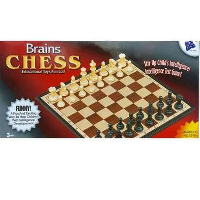 chess  board games magnetic image 1