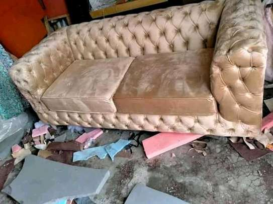 All Tufted 3 Seater Chesterfield Sofa image 1