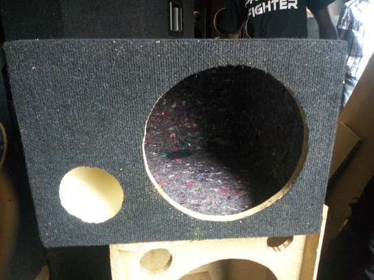 12 INCH SPEAKER CABINET WITH ONE BREATHER image 1