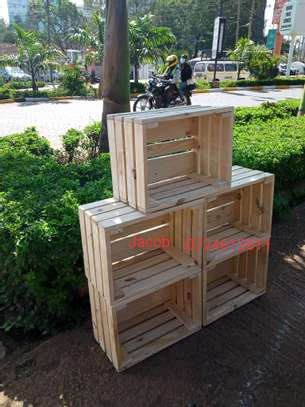 Wooden boxes for export image 1