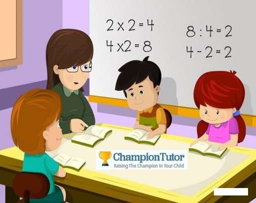 Champion tutor - Online service available image 1