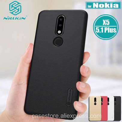 NILLKIN Super Frosted Shield Back Cover For Nokia 5.1 image 2