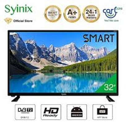 Syinix 32 Inch Smart Android LED TV Frameless