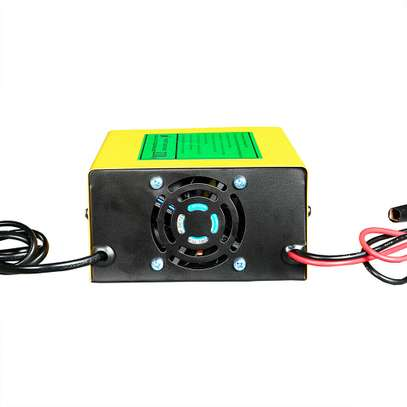 250W Power Full Automatic Car Battery Charger Intelligent Pulse Repair 12V/24V Truck Motorcycle batteries Charger 150V/250V image 1