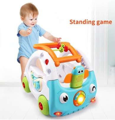 Baby 3in1 Baby Walker & Discovery Car image 2