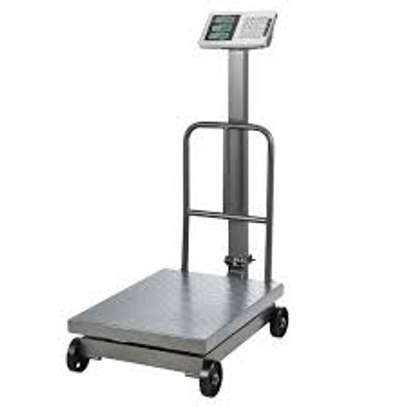HIGH PRECISION DIGITAL WEIGHING SCALE – 500KG image 1