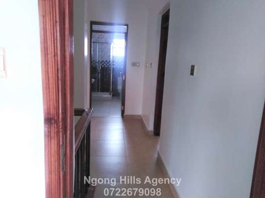 Four bedrooms townhouse with a DSQ for rent in Kibiko image 11