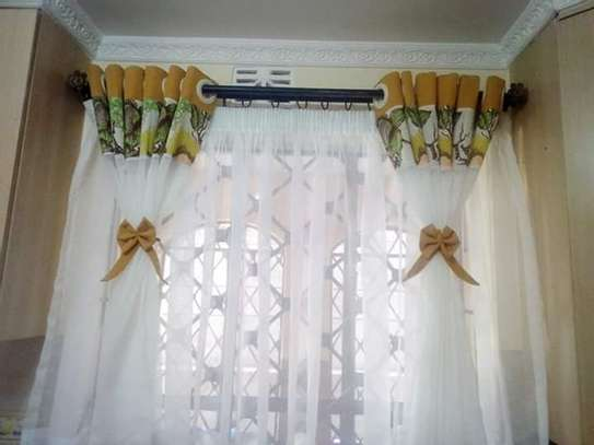 Home Kitchen curtains image 6