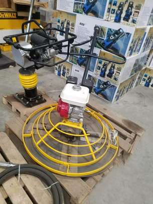 POWER FLOATING MACHINES FOR HIRE.