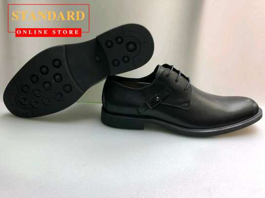 PURE ITALIAN LEATHER SHOES WITH RUBBER SOLE image 19