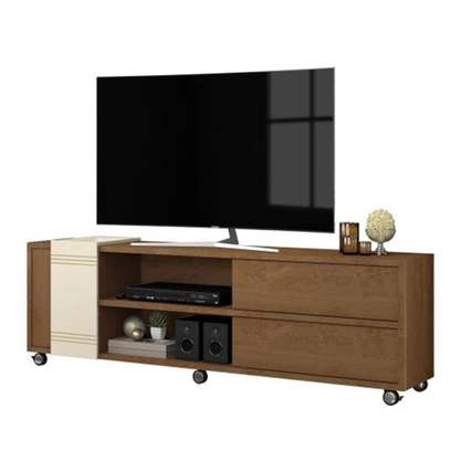 Briea brown tv stand image 1
