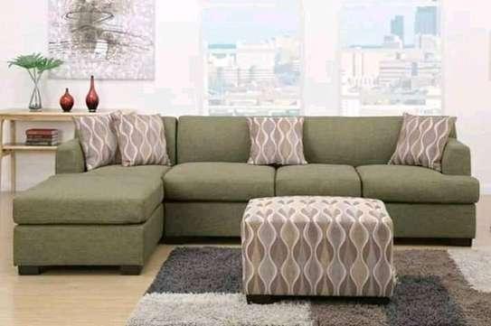 Beautiful Modern Quality 6 Seater L-Shaped Sofa image 1