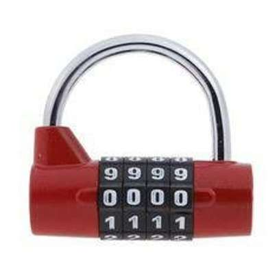 5 Digit Combination Lock Locker Luggage Suitcase Travel Gym Code Padlock image 1