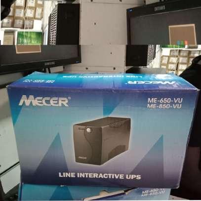 MECER 650VA Line Interactive UPS(ME-650-VU) -black image 1