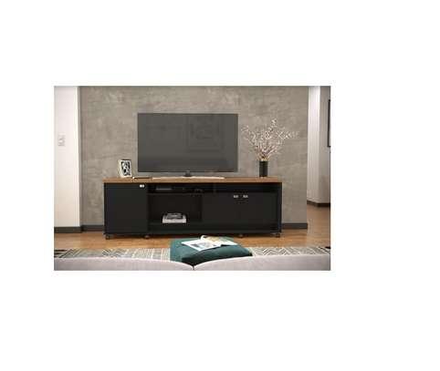 TV UNIT DALLAS BLACK ALMOND image 1