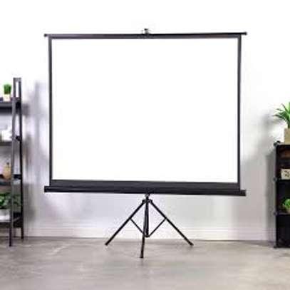Tripod/portable 70' x 70' Projection Screen image 1