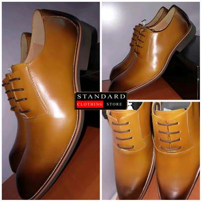 Men's Official Italian Leather Shoes with rubber sole image 31