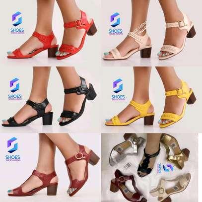 Quality Chunky Heels image 1