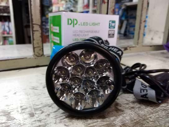 LED RECHARGEABLE HEADLIGHT image 2