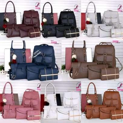 Genuine leather handbags image 1