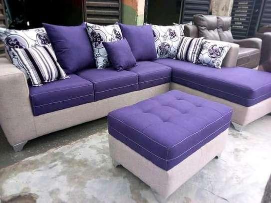 Purple L seat