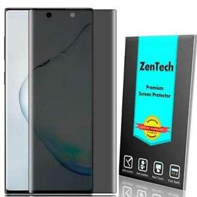 UV Privacy Anti-Spy Anti-Peep NANO Liquid Full Glue Tempered Glass For Samsung S20 S20+ S20 Ultra image 3