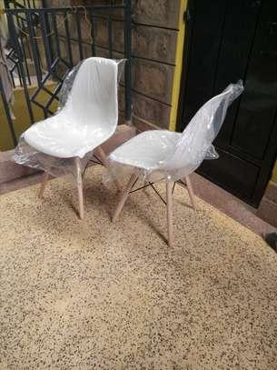White Eames Chair image 1