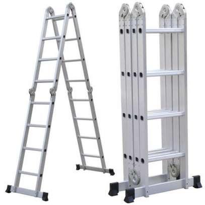 Aluminium Foldable Ladders Supplier In Kenya image 1