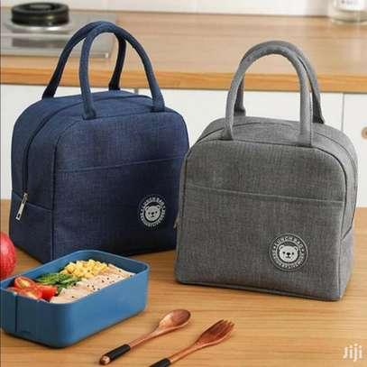 Women Men Kid Work School Picnic Lunch Food Insulated Bag image 3