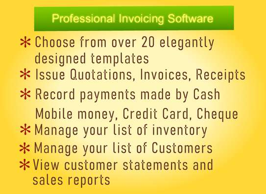 Invoicing and Quotation Software