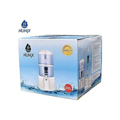 20ltrs stand alone water purifier with tap image 1