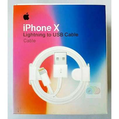 iPhone X Lightning to USB Cable image 3
