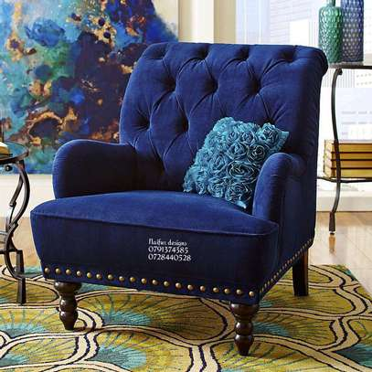 Accent chairs/single seats/Modern sofa/one seater sofa image 1