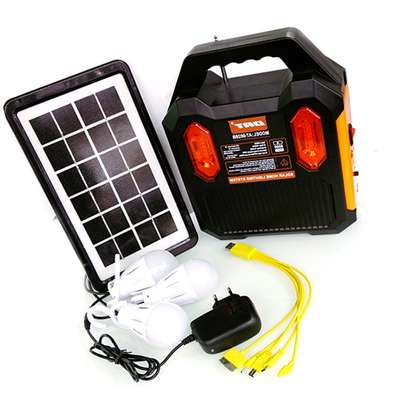 Original DAT AT-9028B Home Solar Lighting System With FM image 1