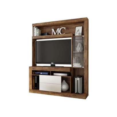 TV Wall Unit Rack ( Entertainment Unit Siberian ) -  for up to 46 inch TV image 1