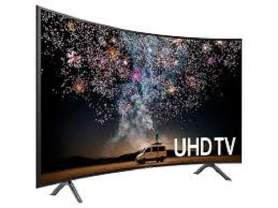 Samsung 55 Inch Smart 4K UHD Curved TV, 55RU7300 image 1