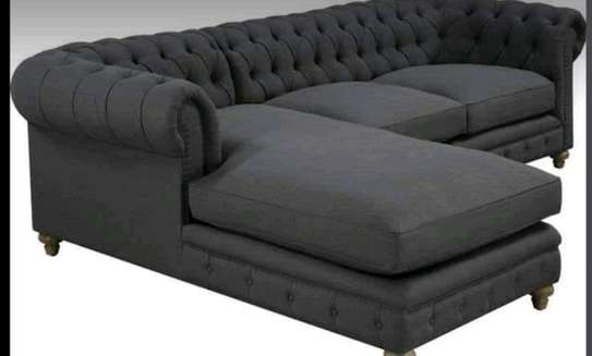 L-Shape Chesterfield Sofa (6seater) image 1