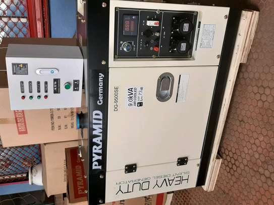 9kva silent automatic generator image 1