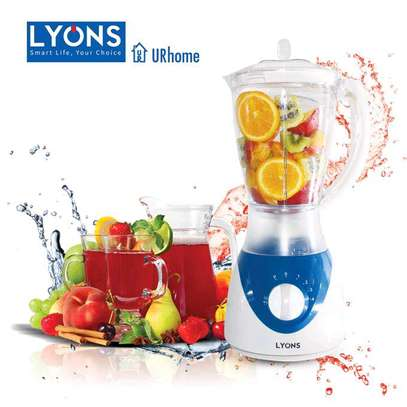 Lyons FY-304-1.5L Professional Blender with Grinding Machine White & Blue. image 1