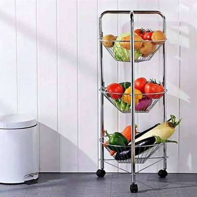 STAINLESS STEEL VEGETABLE STAND