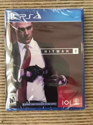 Hitman 2 PS4 Game - Brand New & Sealed image 1