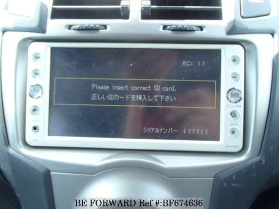 Please Insert Correct SD Card Solution for Ex Japan Car Radio image 2